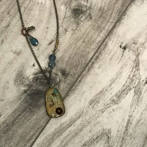 Silpada Shadow Box Necklace